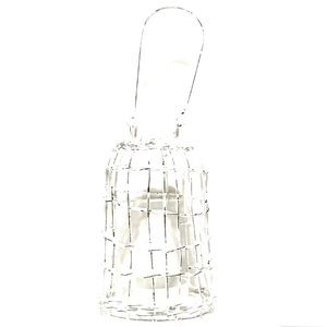 Other - White Rustic Hanging Tea Light Holders 4pcs